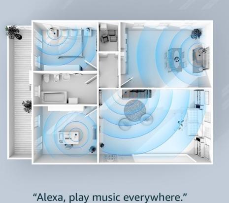 radio-innovaties Alexa play music in every room